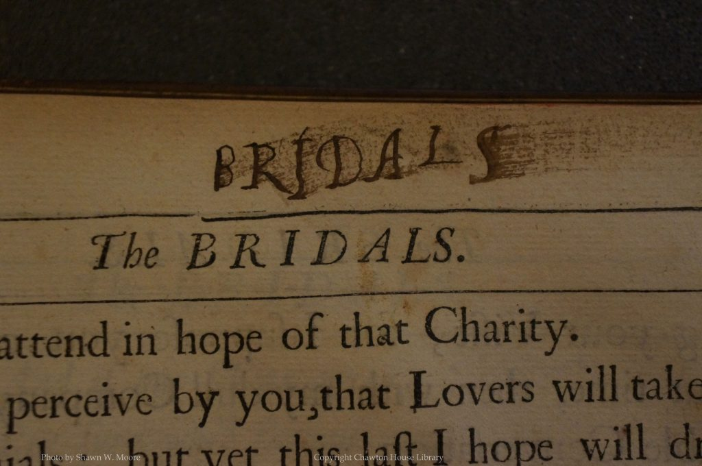 Marginalia - Bridals